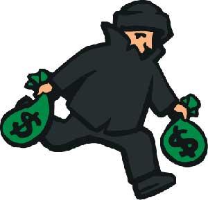 ثبت حسابداری سرقت دارایی