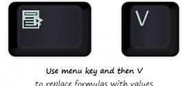 replace-formulas-with-values-shortcut