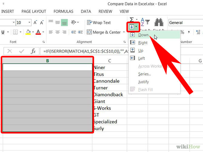 Compare Data in Excel Step 1Bullet3 Version 4.jpg