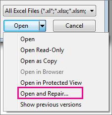 repair-excel-file