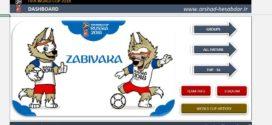 جام جهانی در اکسل